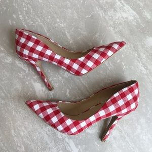 [Charles by Charles David] Red Multi Maxx Heels